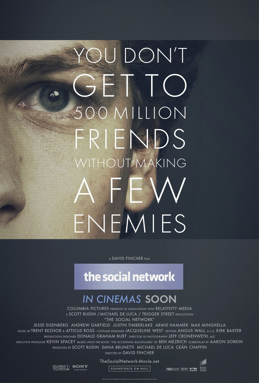 فیلم شبکه اجتماعی ۲۰۱۰