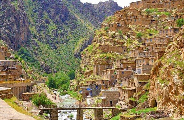"""روستای """"پالنگان"""" برند گردشگری کردستان"""