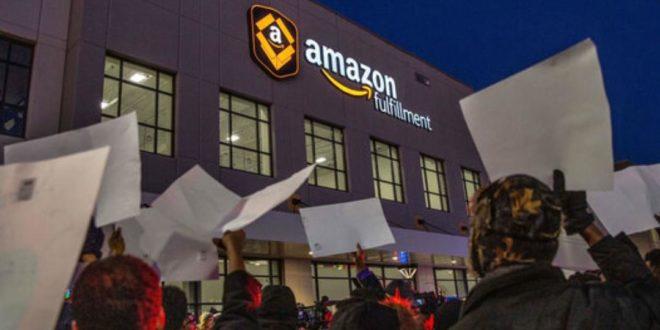 کارگران آمازون اعتصاب می کنند