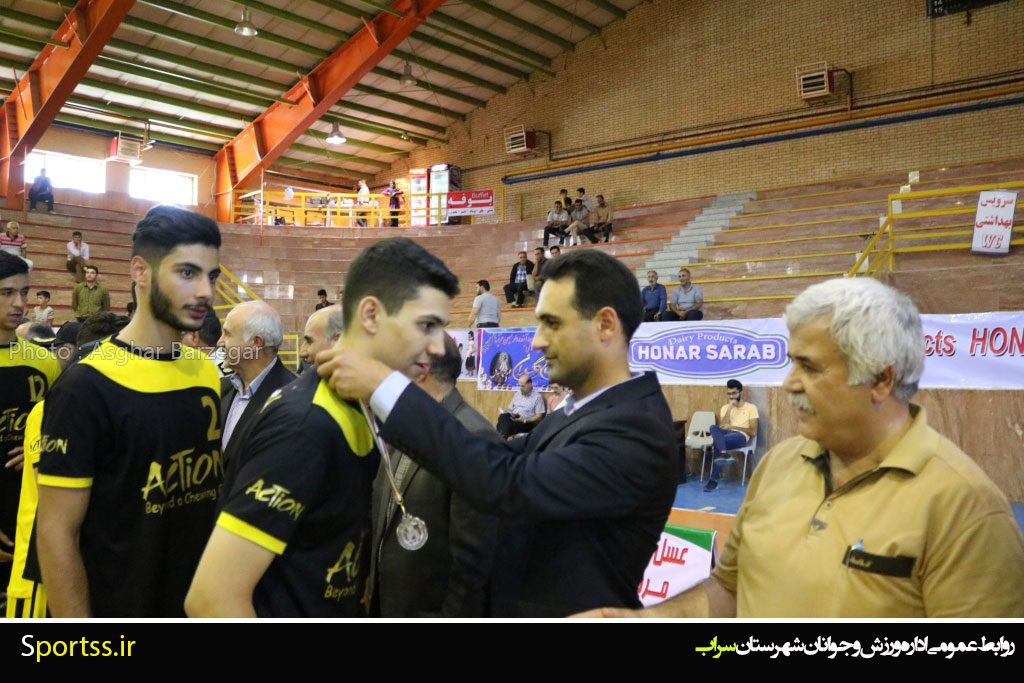 برند اکشن حامی نائب قهرمان والیبال جوانان کشور