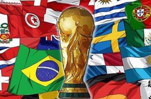 تعداد قهرمانی کشورها در جامهای جهانی ۱۹۳۰ تا ۲۰۱۸