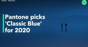 انتخاب رنگ سال ۲۰۲۰ توسط کمپانی پنتون
