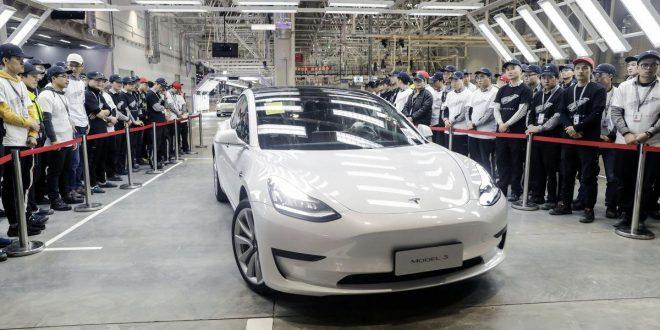 تحویل اولین خودرو تسلا از کارخانه احداث شده در چین