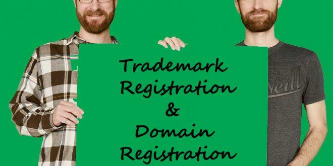 تقدم ثبت علامت تجاری بر ثبت نام دامنه