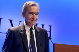 مدیرعامل برند لوئی ویتون و ثروتمندترین فرد اروپا امروز ۱۱ میلیارد دلار پولدارتر شد