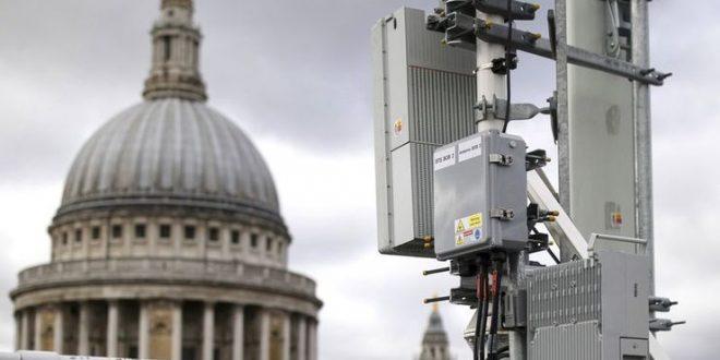 احداث شبکه ۵G بریتانیا بدون مشارکت برند هواوی