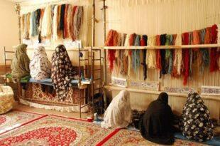 هنر ایران با برندPersian carpet/گیلان، پایگاه تولید فرش ابریشمی
