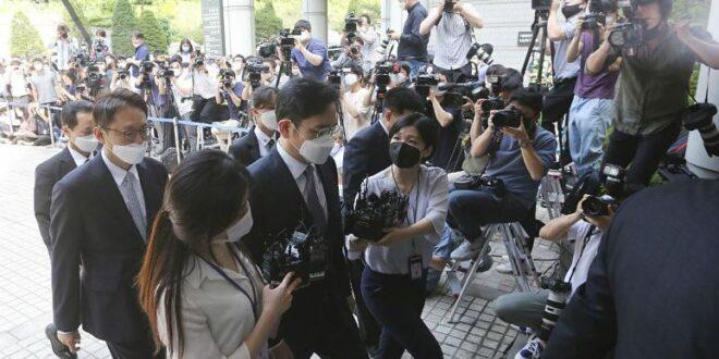 آغاز محاکمه نوه بنیانگذار برند سامسونگ به اتهام دستکاری قیمت سهام