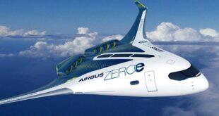 برند ایرباس از طراحی هواپیماهای هیدروژنی خبر داد