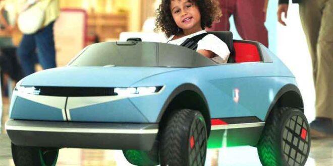 برند هیوندای/رونمایی از خودروی ویژه کودکان