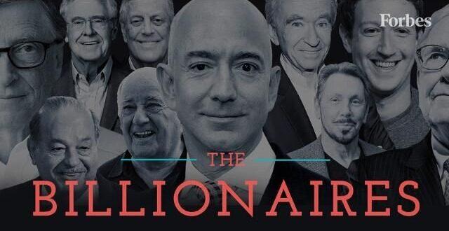 جدیدترین رتبه بندی ثروتمندان جهان