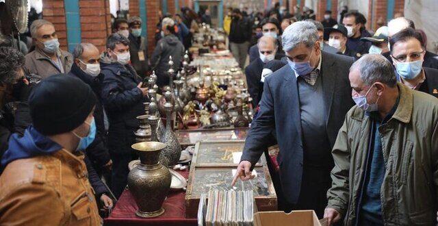 فعالیت ۱۲۰۰ نفر در جمعه بازار پروانه