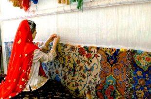 فرش های بافته شده مددجویان با برند «احسان» ثبت جهانی شد