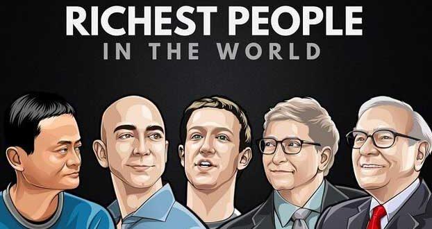 تازه ترین لیست ثروتمندان جهان/ جف بزوس در صدر