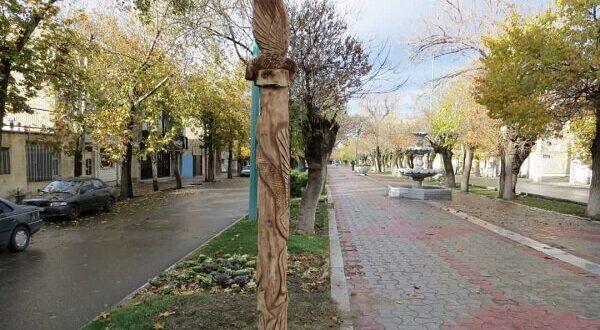 روح شهر جهانی مبل منبت در کالبد درختان خشکیده