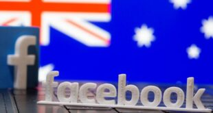 رفع فیلتر صفحات خبری استرالیایی در برند فیس بوک