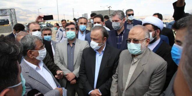 بازدید وزیر صمت از طرح تولید واکسنهای دام و طیور