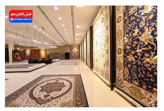 خرید فرش وتابلو فرش ارزان از فرش کاشان مهر