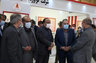 بازدید سرپرست معاونت امور معادن و صنایع معدنی وزارت صمت از نمایشگاه تبریز