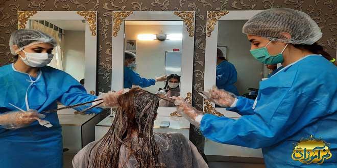 بهترین آموزشگاه آرایشگری زنانه فنی حرفه ای در تهران