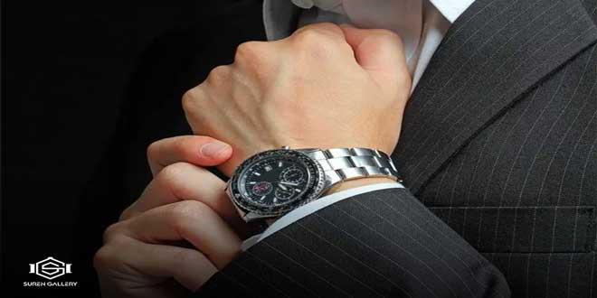 چرا ساعت مردانه در سایت سورن گالری ارزان است؟