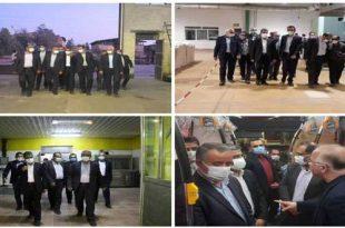 آغاز عملیات اجرایی احداث دو طرح صنعتی